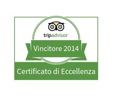 Masseria La Morella: certificato di Eccellenza TripAdvisor 2019