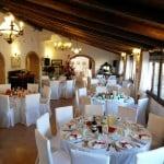 Matrimonio in stile natalizio presso Masseria La Morella Ricevimento nuziale