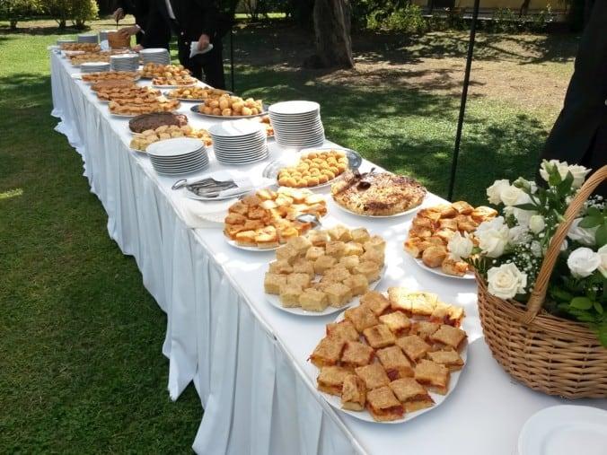 Matrimonio all'aperto, Masseria Morella, aperitivo