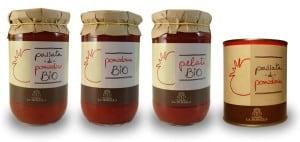 Conserve di pomodoro prodotte presso l'Agriturismo La Morella
