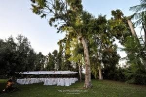 Matrimonio all'aperto presso La Morella