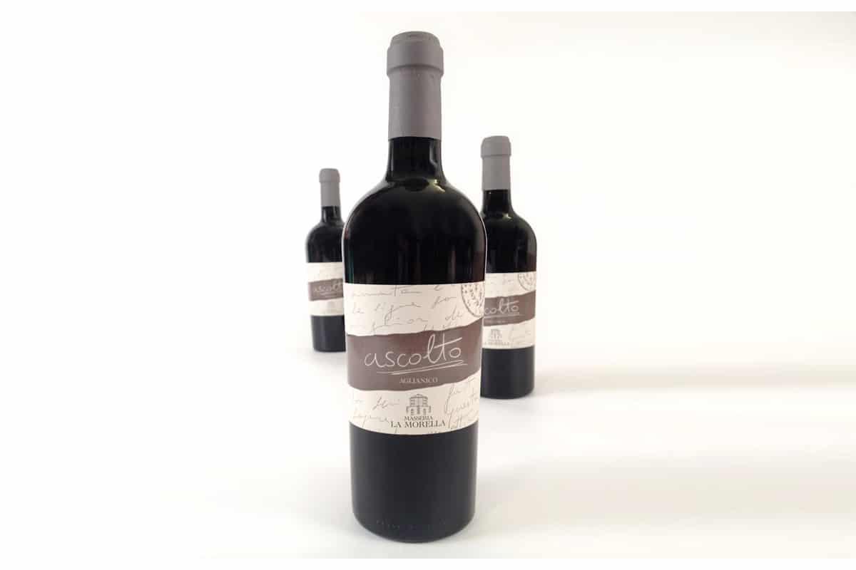 Il vino aglianico Ascolto