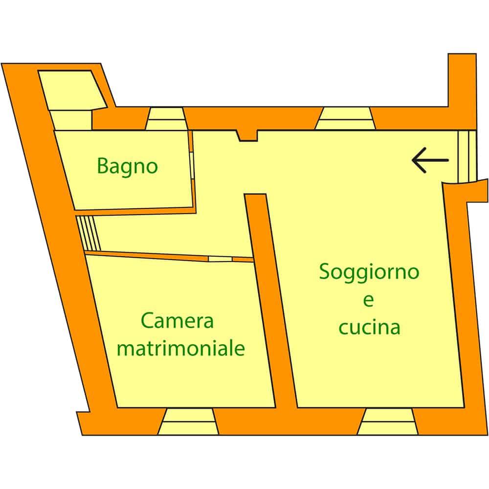 appartamento in agriturismo Nespolo