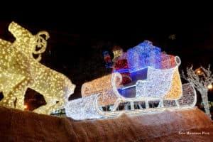 Luci d'Artista, Slitta di Babbo Natale