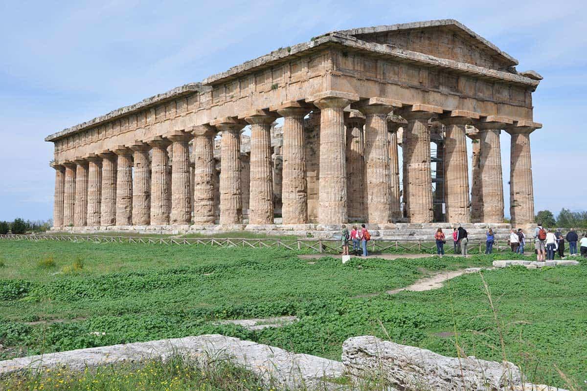 Agrirturismo vicino ai templi di Paestum