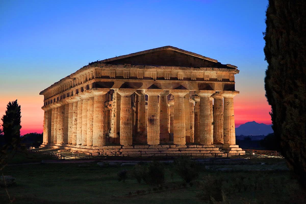 Agriturismo vicino al Cilento per visitare Paestum