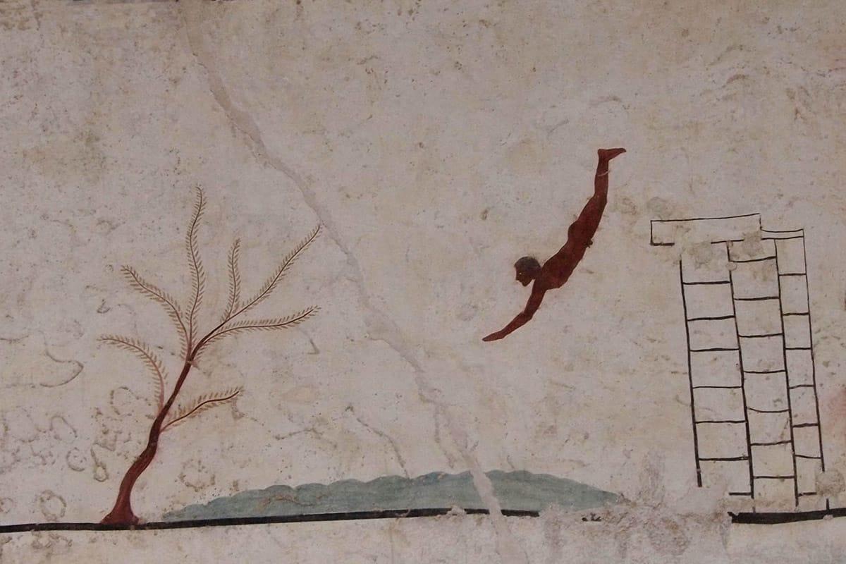 Agriturismo Paestum per vedere la Tomba del tuffatore