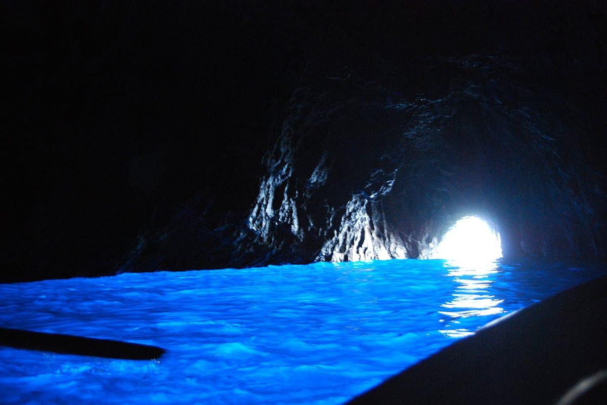 La Grotta Azzurra dell'isola di Capri