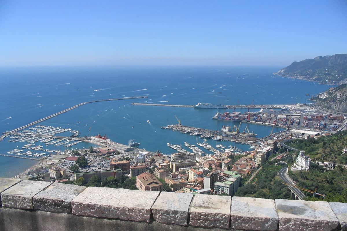 Salerno dal Castello Arerchi