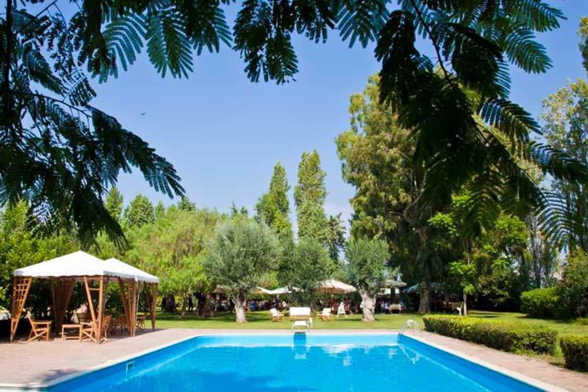 Agriturismo con piscina Campania