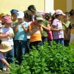 Scuola in visita all'Agriturismo la Morella