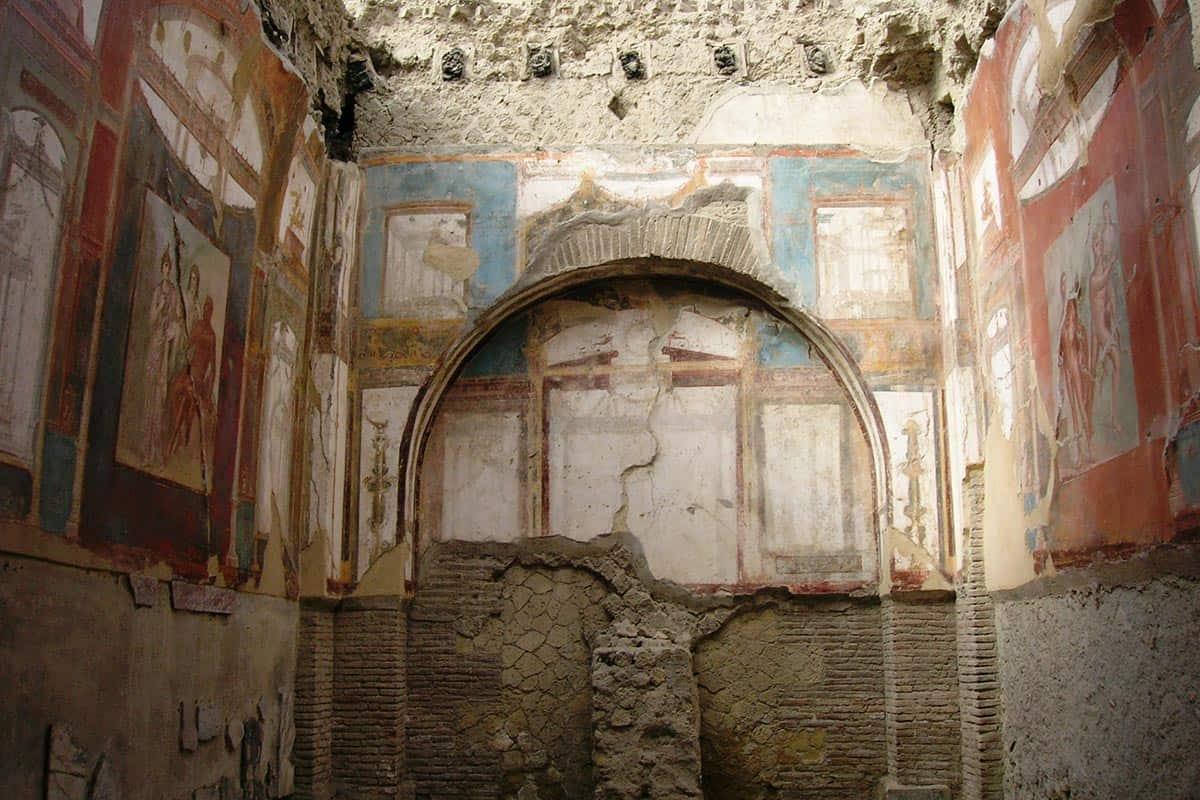Collegio degli augustali a Ercolano