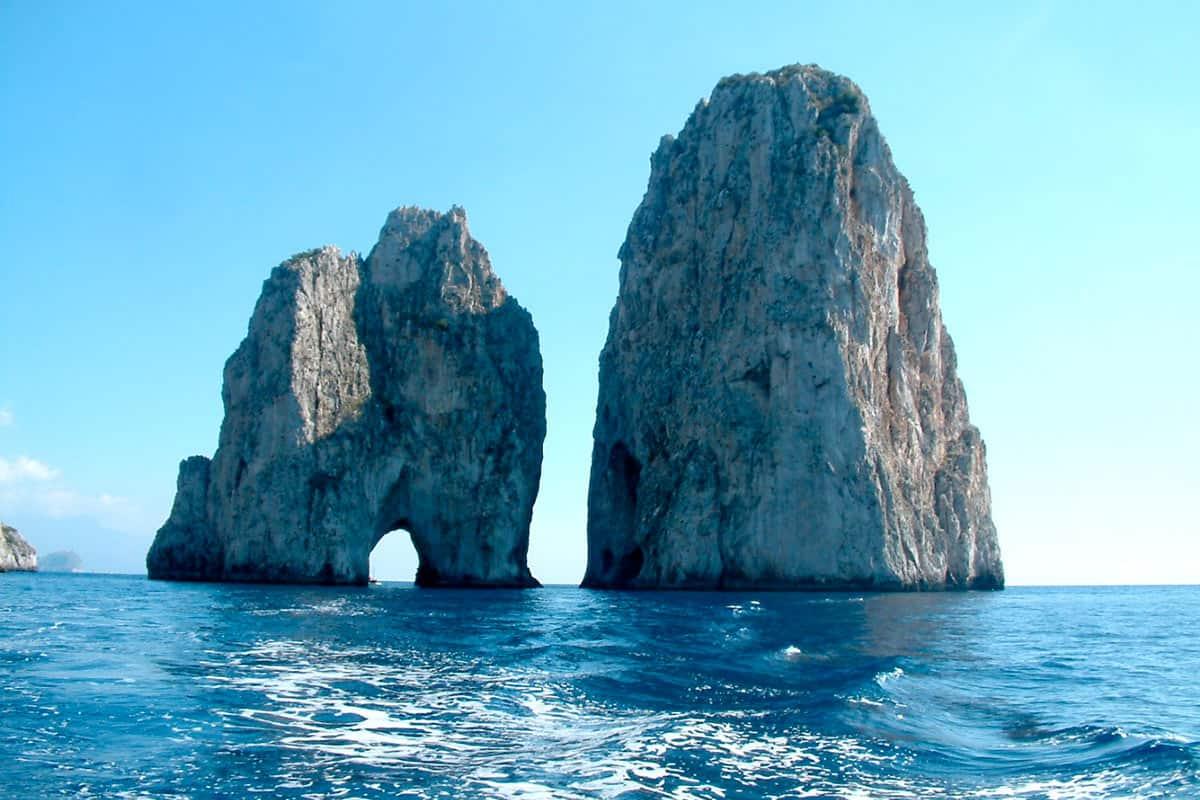 Faraglioni dell'isola di Capri